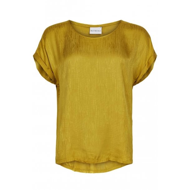 Bluse fra INFRONT med rayon, TILBUD