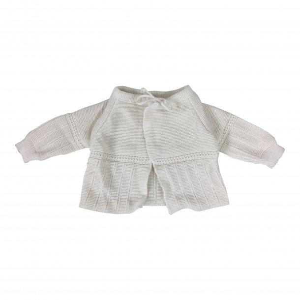 Baby-cardigan, 100% økologisk bomuld TILBUD