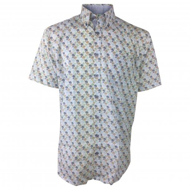 Kortærmet skjorte, boumuld TILBUD