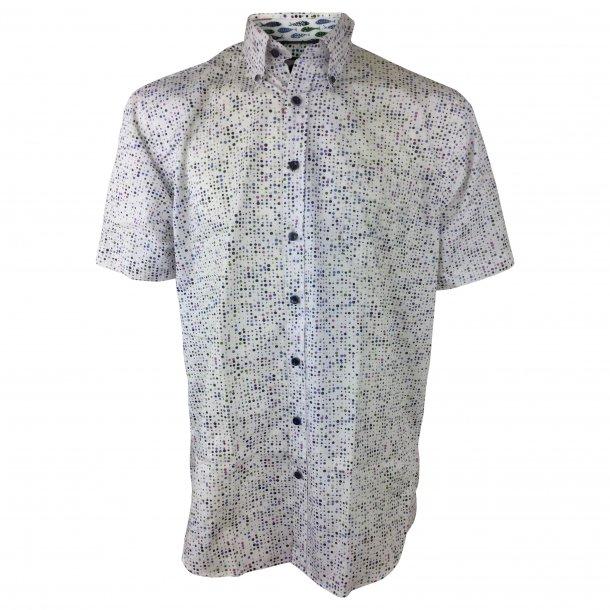 Skjorte, kortærmet, bomuld TILBUD