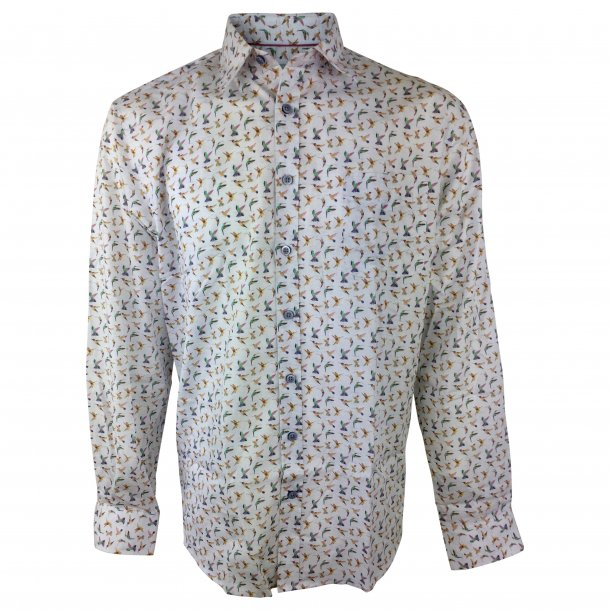 f546ba34 Skjorte, langærmet, bomuld TILBUD - Skjorter - Samsø Nature