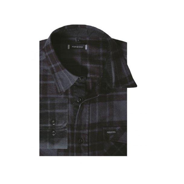 Skjorte, flannel, BIGSIZE TILBUD