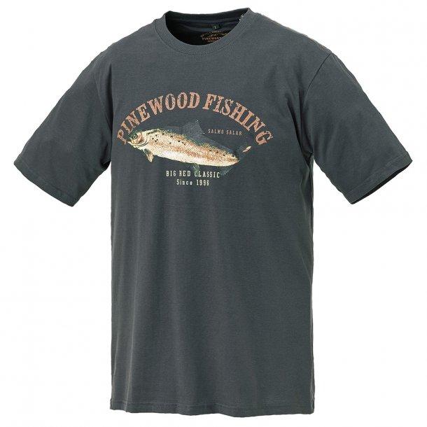 T-Shirt Salmon art: 9453, Pinewood