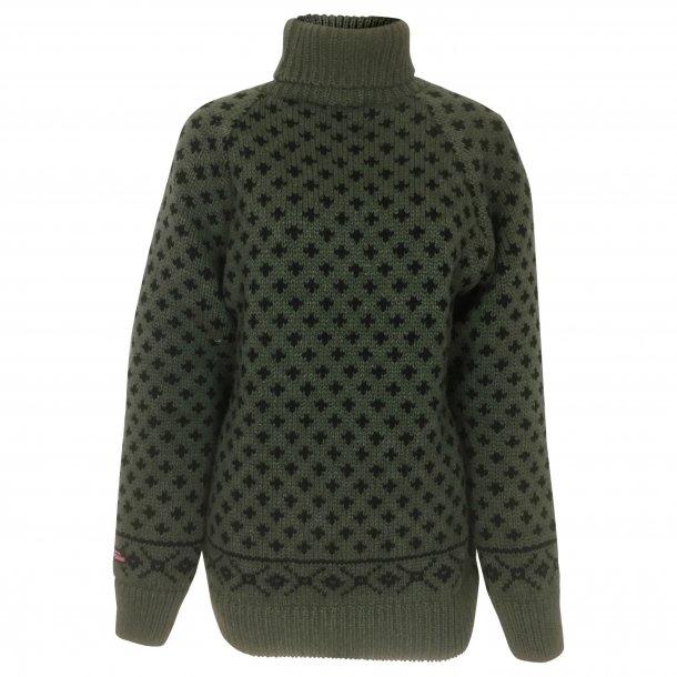 Sweater i 100% Ren Ny Uld, TILBUD