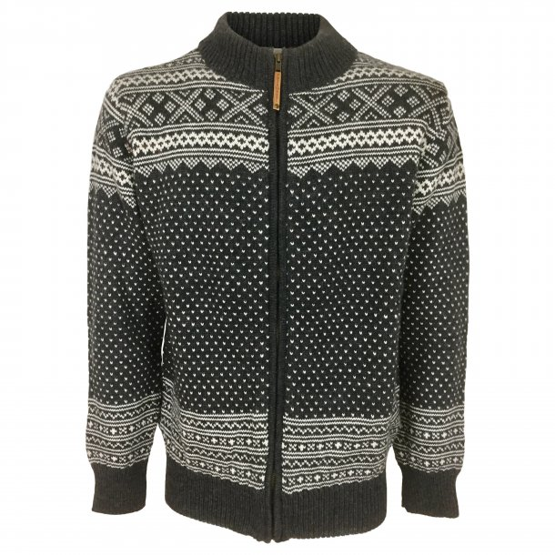 Sweater, gennemlynet, 100% Merinould