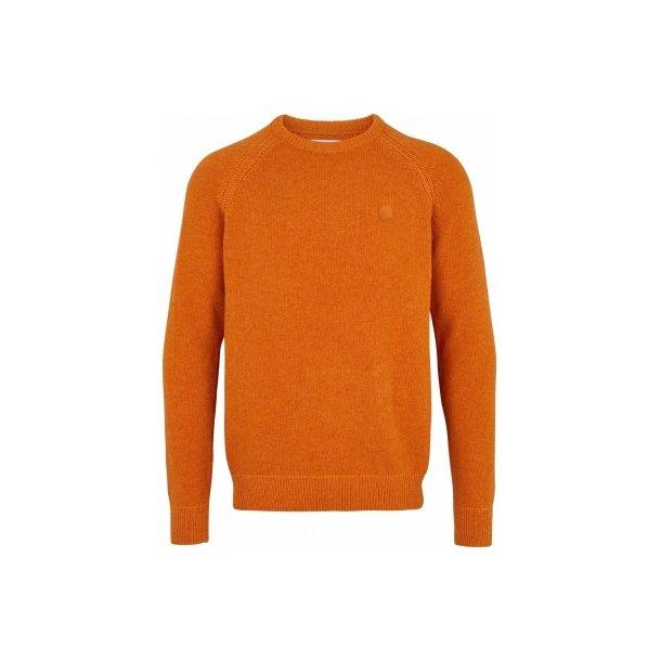 Sweater m. lammeuld fra KRONSTADT, TILBUD