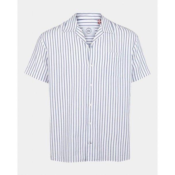 Kortærmet skjorte fra KRONSTADT, 100% bomuld. TILBUD