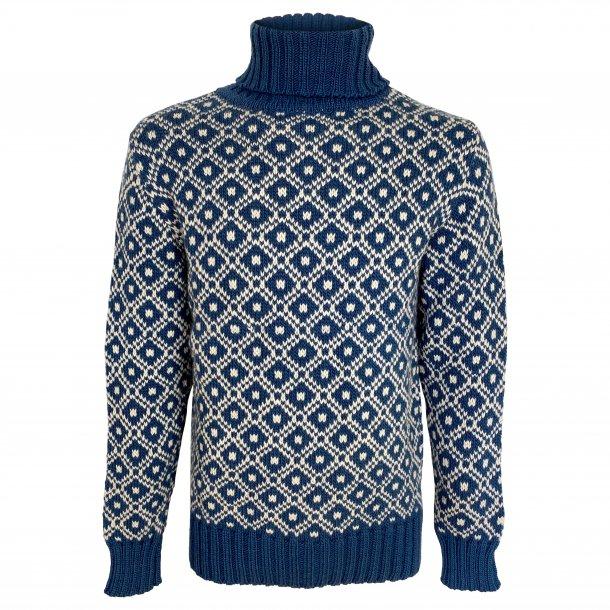 Sweater med rullekrave, FUZA WOOL, 100% Merinould