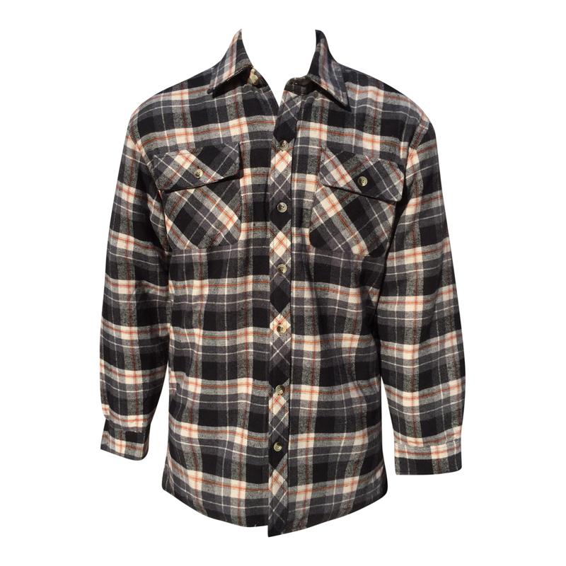 Foret skjorte, gennemknappet. TILBUD - vatterede skjorter - Samsø Nature