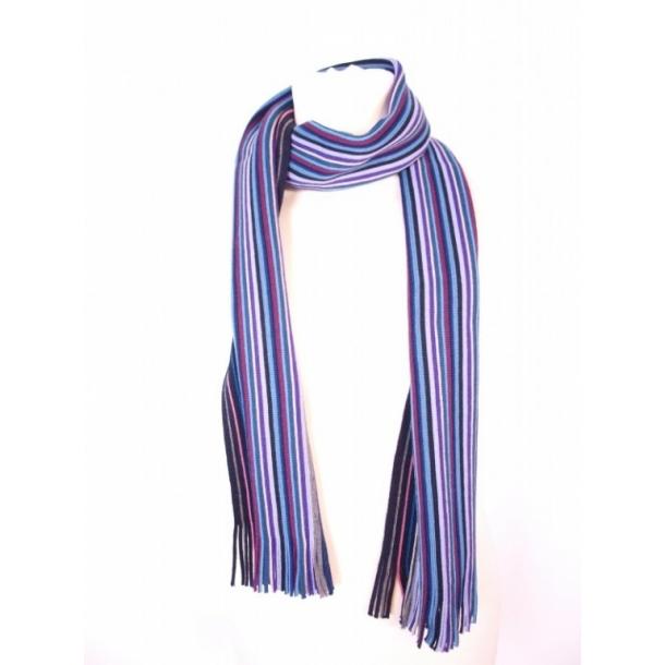 Halstørklæde, 100% uld, stribet. - Tørklæder og halstørklæder - Samsø Nature