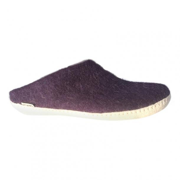 Ankelstøvle, naturbrun. De originale filt støvler fra Glerups. Tilbud.