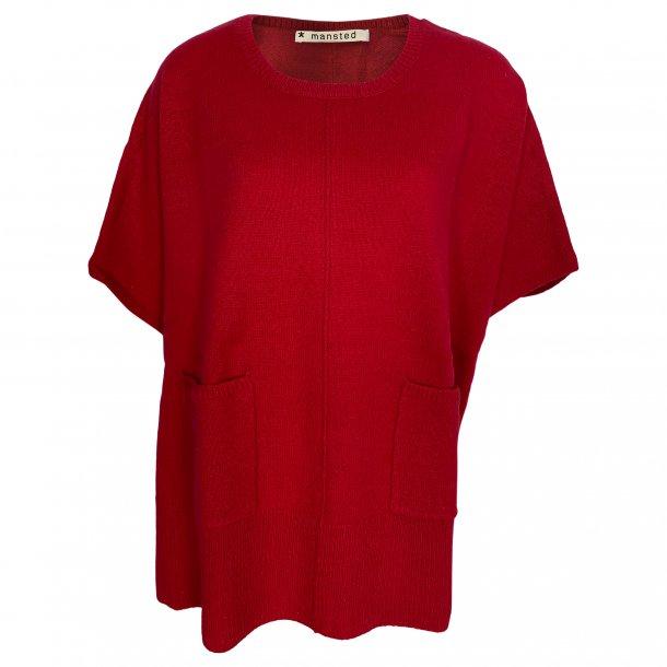 Bluse/slag fra MANSTED, 100% lammeuld. TILBUD