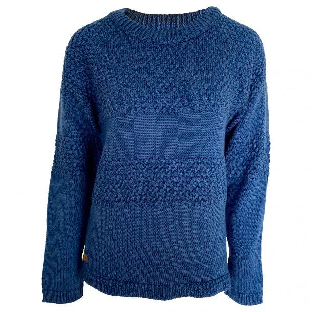 Sweater fra FUZA WOOL, 100% merinould. TILBUD