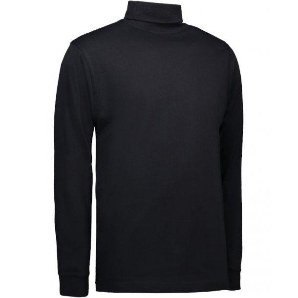 Rullekrave T-shirt, 100% bomuld TILBUD