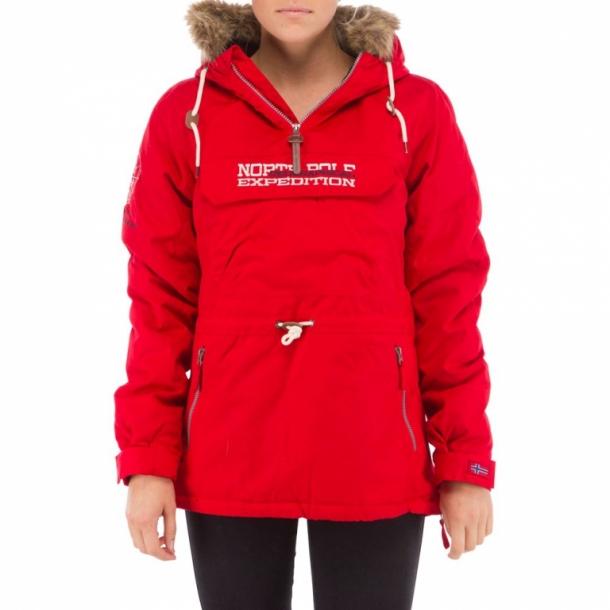d52b2346 Weather Report, Anorak, Cheryl ensfarvet rød - Overtøj: Frakke ...